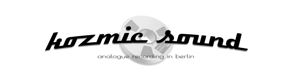 kozmic sound – analoges Tonstudio in Berlin